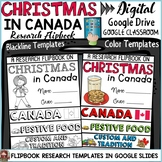CHRISTMAS IN CANADA DIGITAL RESEARCH: GOOGLE CLASSROOM