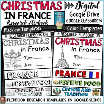 CHRISTMAS IN FRANCE DIGITAL RESEARCH: GOOGLE CLASSROOM