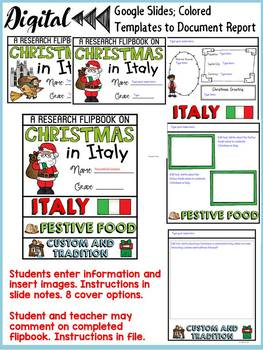 CHRISTMAS IN ITALY DIGITAL RESEARCH: GOOGLE CLASSROOM