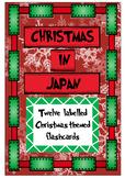 CHRISTMAS IN JAPAN - FLASHCARD SET