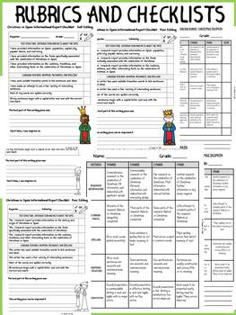 CHRISTMAS IN SPAIN INFORMATIONAL REPORT WRITING RESEARCH FLIPBOOK