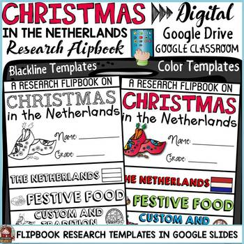 CHRISTMAS IN THE NETHERLANDS DIGITAL RESEARCH: GOOGLE CLASSROOM