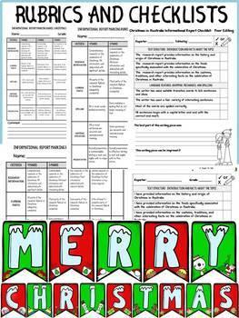 CHRISTMAS: INFORMATIONAL REPORT WRITING RESEARCH FLIPBOOKS BUNDLE