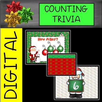 CHRISTMAS Interactive Trivia Counting