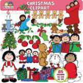 CHRISTMAS KIDS Clipart (Karen's Kids Clipart)