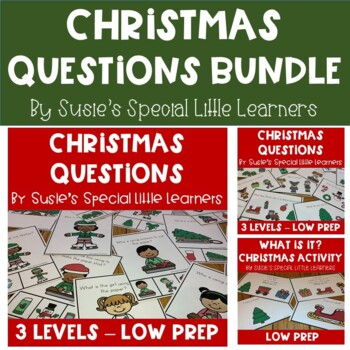 CHRISTMAS LANGUAGE BUNDLE FOR AUTISM AND SPECIAL EDUCATION