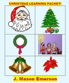 CHRISTMAS LEARNING PACKET! (FUN, MATH, LITERACY, CCSS, ART