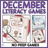 CHRISTMAS LITERACY ACTIVITIES - NO PREP