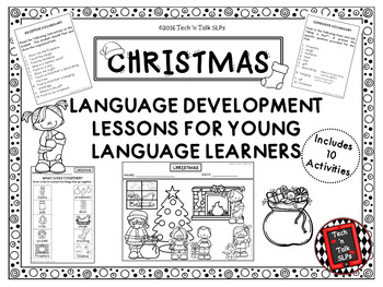CHRISTMAS Language Development Lessons for Young Language Learners