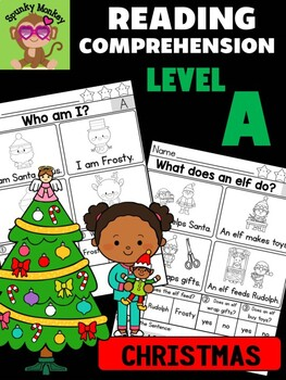 CHRISTMAS - Level A Reading Comprehension Passages & Questions