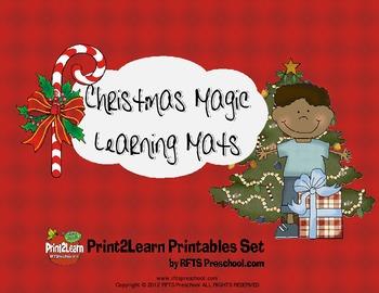 CHRISTMAS MAGIC LEARNING MATS