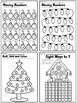 CHRISTMAS MATH WORKSHEETS * A MEGA BUNDLE FOR KINDERGARTEN