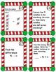 CHRISTMAS MATH Subtraction Task Cards