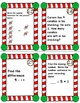CHRISTMAS MATH Subtraction Task Cards