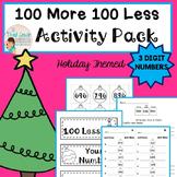 CHRISTMAS MATH 100 More 100 Less