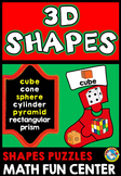 PRESCHOOL CHRISTMAS ACTIVITY KINDERGARTEN (3D SHAPE CENTER) STOCKING PUZZLE