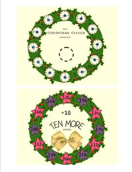 CHRISTMAS  MATH  AND  LITERACY  WREATH  PACKET  PLUS  WREATH  ART  ACTIVITY