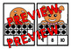 CHRISTMAS MATH CENTER: GINGERBREAD TEN FRAMES CLIP CARDS (K + PRE K CENTER)