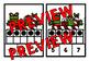 CHRISTMAS MATH CENTER: PRESENTS+ TEN FRAMES CLIP CARDS (K