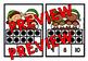 CHRISTMAS MATH CENTER: SANTA'S ELVES TEN FRAMES CLIP CARDS (K + PRE K CENTER)