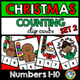 CHRISTMAS MATH CENTERS KINDERGARTEN (DECEMBER ACTIVITY PRESCHOOL COUNTING 1-10)