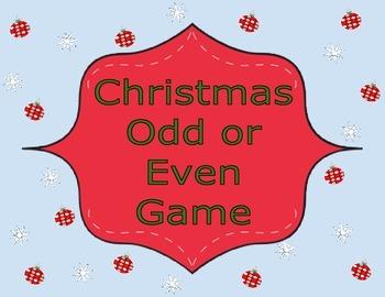 Christmas Math Game