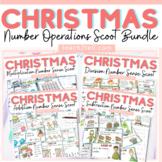 CHRISTMAS MATH SCOOT (TASK CARD) ACTIVITIES BUNDLE