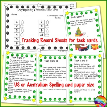 CHRISTMAS MATH Activities puzzles and tasks