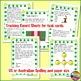 CHRISTMAS MATH Task Cards MATH STATIONS YR2-4 PUZZLES WORD