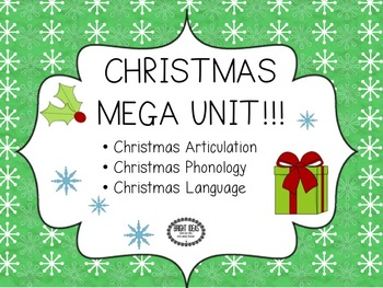 CHRISTMAS MEGA UNIT: ARTIC/PHONO/LANGUAGE