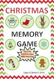 CHRISTMAS MEMORY GAME / JUEGO DE CARTAS NAVIDAD
