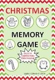 CHRISTMAS MEMORY GAME / JUEGO DE CARTAS NAVIDAD PARA COLOREAR