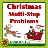 CHRISTMAS MULTI-STEP PROBLEMS • Grades 4–6