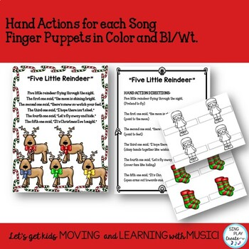 Christmas Literacy Songs, Poems, Fingerplays, Readers Theater, Writing  {CCSS}