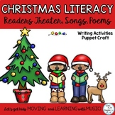 Christmas Literacy Songs, Poems, Fingerplays, Readers Thea
