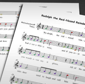CHRISTMAS MUSIC: Rudolph the Red-Nosed Reindeer (Boomwhackers)