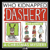 CHRISTMAS MYSTERY ACTIVITY: MISSING REINDEER
