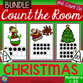 CHRISTMAS Math - Count the Room – Ten Frames and Numbers 1