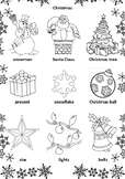 CHRISTMAS & NEW YEAR ACTIVITIES. CHRISTMAS COLOURING PAGES. NEW YEAR 2018
