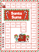 CHRISTMAS NO PREP MATH AND LITERACY GAMES