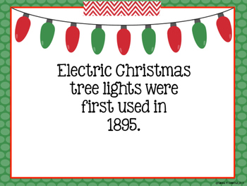CHRISTMAS Non-Fiction Fun Facts For Kids