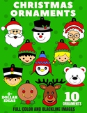 10 CHRISTMAS ORNAMENTS | CHRISTMAS CRAFTS FOR KIDS