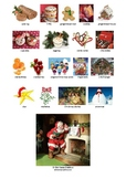 CHRISTMAS - PICTIONARY PRINTABLE - PAGE 2 (with page 1 - FREE)