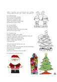 CHRISTMAS POEM ORIGINAL - Will Santa be on time or late?