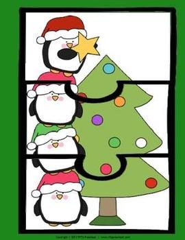 CHRISTMAS PUZZLES (3-piece)