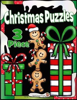 CHRISTMAS PUZZLES (3-piece)