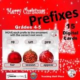 CHRISTMAS ... Prefixes & Root Words ... DIGITAL DECK   Voc
