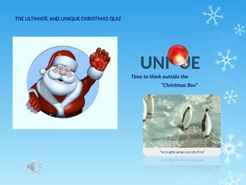 CHRISTMAS QUIZ 2014
