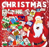 CHRISTMAS RESOURCES EYFS KEY STAGE 1-2 SANTA DISPLAY ACTIVITIES
