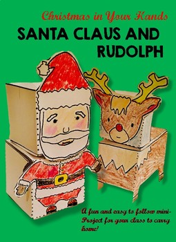 CHRISTMAS SANTA CRAFT PROJECT